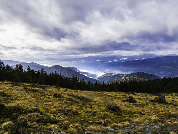 Alps Austria Clouds Landscape Mountain Mountain Range Nature Tranquil Scene
