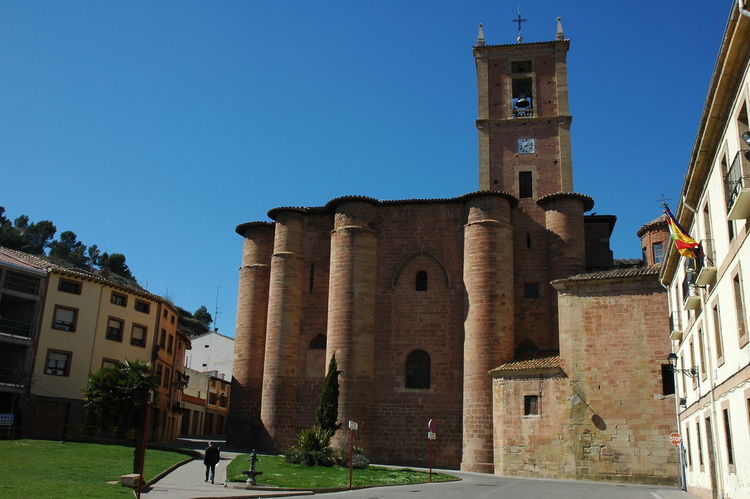 Monasterio De Najera Architecture Building Exterior Built Structure Building Sky Clear Sky Nature Religion History Place Of Worship Belief Spirituality The Past Blue Tower Day Sunlight No People Outdoors Clock