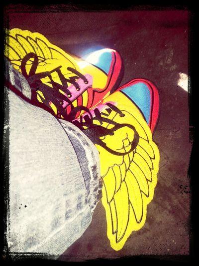 Jeremy Scotts! Wing Shoes