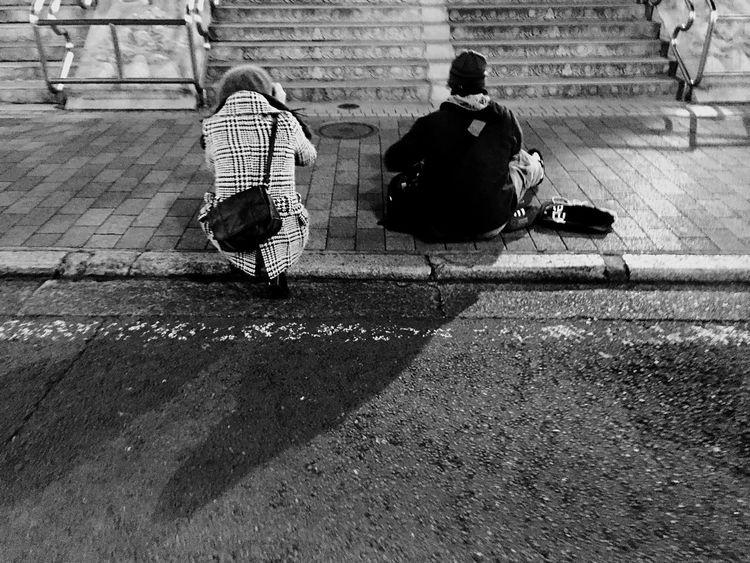 EyeEm Tokyo Meetup 7 Training Streetphotography Monochrome RePicture Friendship