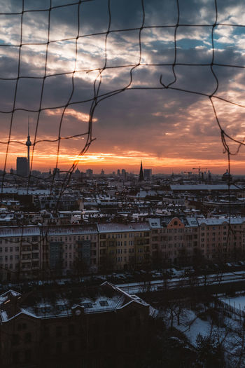 on top Berlin Berlin Photography Berlin, Germany  Rooftop Architecture Berliner Ansichten Built Structure City Cityscape Cloud - Sky Day No People Outdoors Reflection Sky Sunset