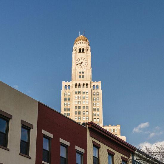 Downtown Brooklyn Skyscraper Clock Tower Architecture