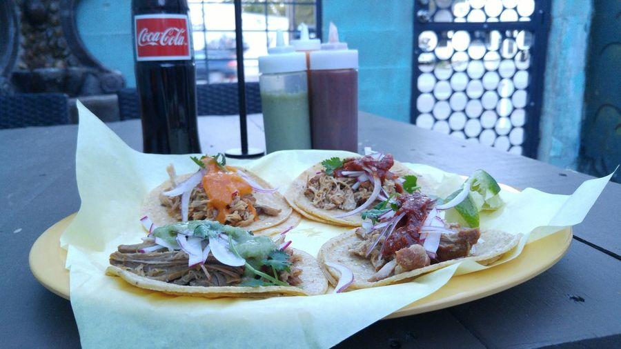 Them Tacos though Tacos Mariachi Foodie Dallas Margaret Hunt Hill Bridge Singleton Singletonpark