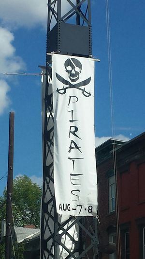 Pirate Pirates Pirates! Piratesweek Pirate Invasion Pirate Ship Pirate Weekend Finger Lakes Of Western New York Palmyra Mormons