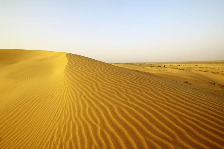 Desert Landscape Sand Sand Dune Outdoors