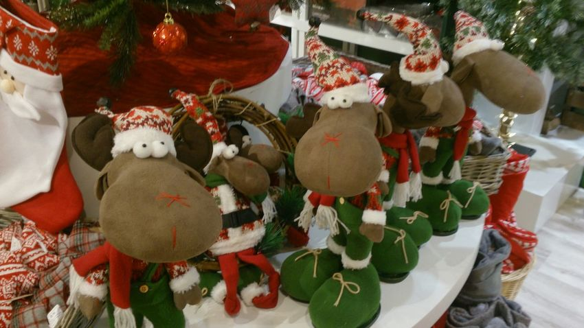 Unas Figuras de unos renos para Decorar tu Casa en Navidad