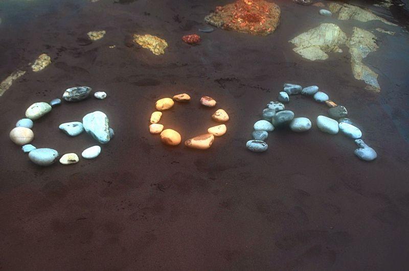 Trip on Goa in beach ..