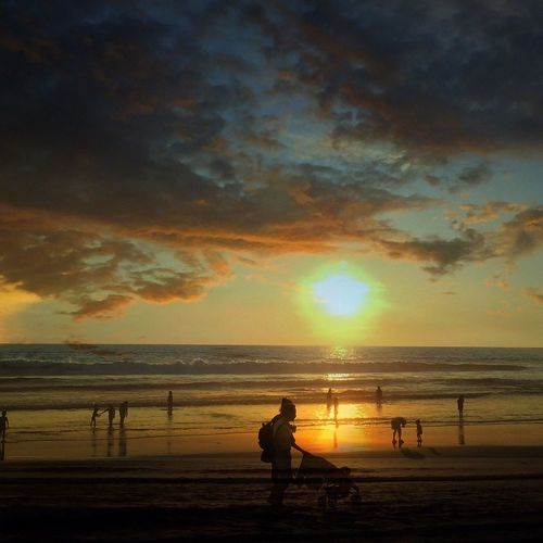Things I Like Enjoying Life Sunset Surf