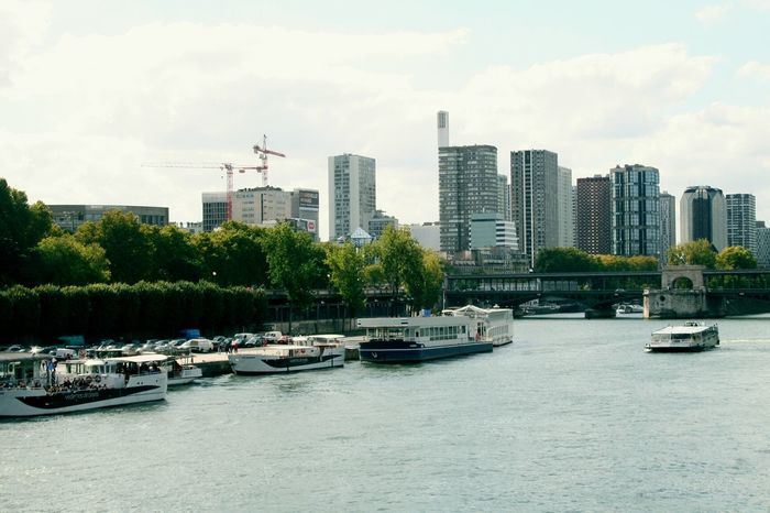 Paris France Urban Landscape Walking Along The Seine Water_collection Lamdscapes With Whitewall