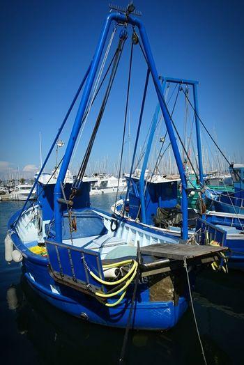 Sea Water Peche Pêcheur Blue Bateau ❤️ Pêcheur 👣🐟 Mer Clear Sky Reflection Sky