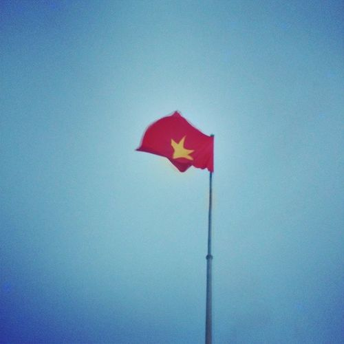 Redflag Hanoi Hochiminh Waving endless