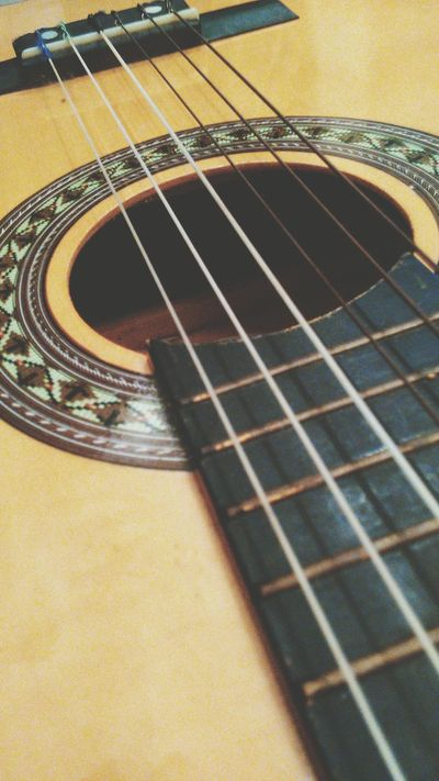 Guitar Instrument Musical Instruments EyeEm Best Shots From My Point Of View Closeup Music Acoustic Guitar Taking Photos Stunning Shots