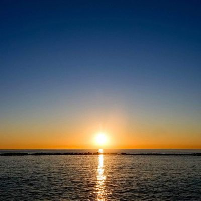 Sunset Sunsets Tramonto Tramonti mare sea evening sera tuscany toscana versilia marinadimassa italia italy horizon orizzonte