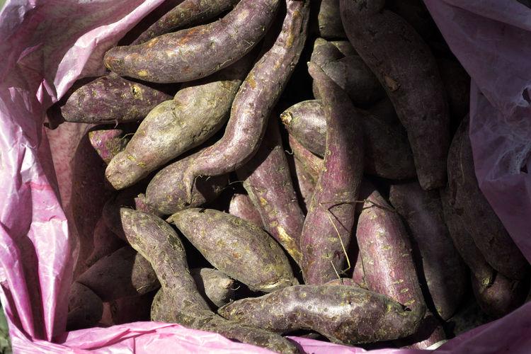 local road side market of kundasang Agricultural Agriculture Food Product Local Market Local Market Products Malaysia Sweet Potato Potato Sabah Local Sweet Potato Sweet Potatoes