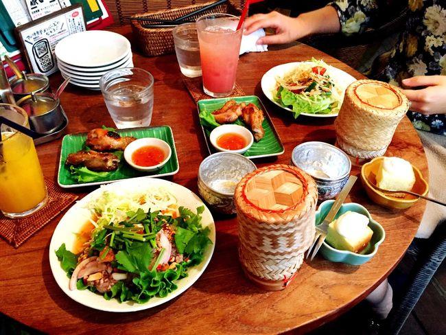 Lunch Thaifood Ethnicfood Withmyfriend Kichijoji Thailand