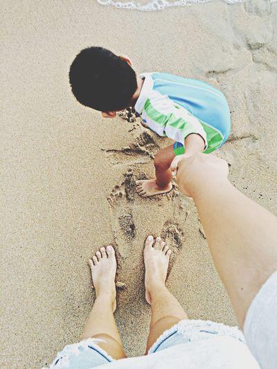 Follow me Family Love Beach Thailand