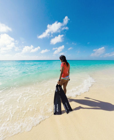 🏝️no tough day is too much for his rough waves to wash away🏝️~ Beach Sand Sea Sky Blue Island Vacations Nature Beauty In Nature Grandturk Turksandcaicos Landscape Travel Destinations Tourist Resort Water Turquoise Colored Tropical Climate Summer