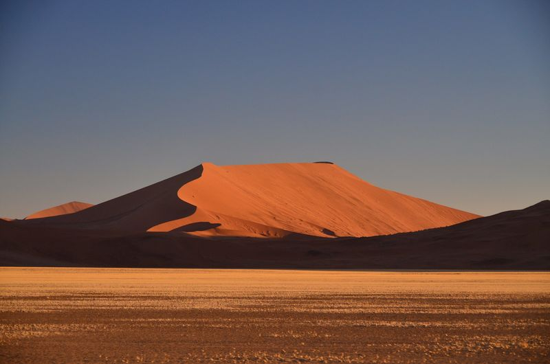 Nature Namibia Sossusvlei Dunes Balloon Flying Tourism Adventure Sightseeing Nature Climate Change Dry Arid Climate Red Yellow Sunrise High Angle View Working Melnacholy Enjoying Life Rich Luxury