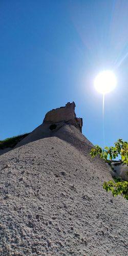 Cappadocia Cappadocia/Turkey Cappadociaturkey Cappadociasunrise Cappadocia Hot Air Ballons Cappadocia Ballon Cappadociafanpage Summer Exploratorium Clear Sky Sun Rock - Object Astronomy Landscape Summer Exploratorium Summer Exploratorium