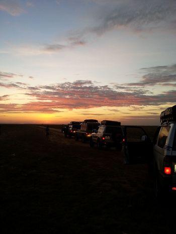 Sunset Sky Travel Outdoors Barquisimeto Lovely Caravan