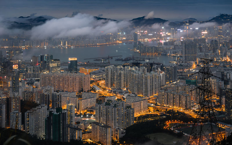 After rainstorm, Kowloon Peak at Dusk, Hong Kong Mountain View Night City Nightphotography Night Lights Kowloon Peak Kowloon Light And Shadow Sunset #sun #clouds #skylovers #sky #nature #beautifulinnature #naturalbeauty #photography #landscape Dusk Rainy Day Hong Kong Hongkong Photos Hong Kong City Hongkongphotography Cityscape City View  City Lights City Skyline Cityview Cityscape Photography Cloudscape Cloudscapes HongKong Cityscape Urban Skyline Illuminated Skyscraper Aerial View Nightlife Urban Sprawl