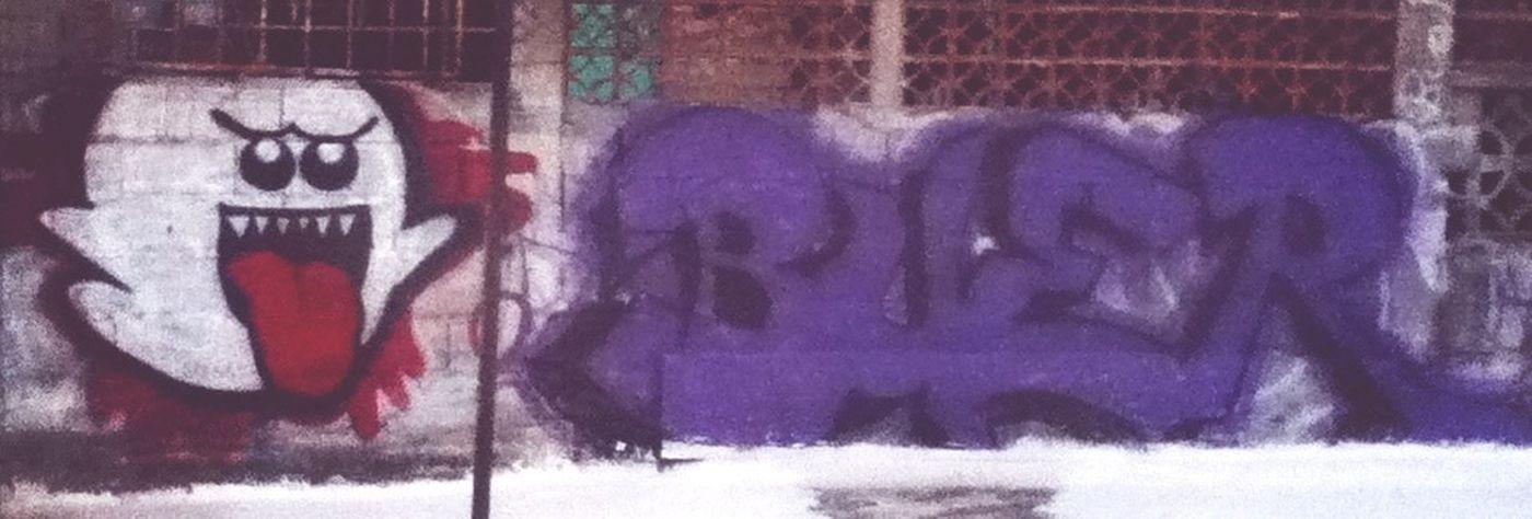 graffiti Ilegal  de hace tiempo viejos recuerdos :3
