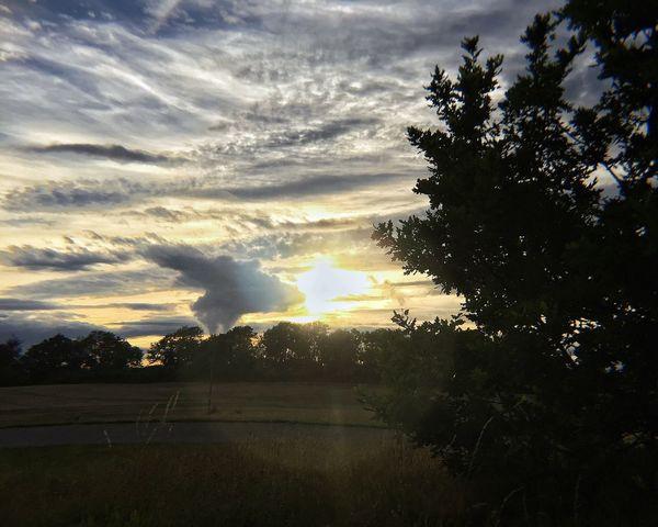Sunset, West Sussex