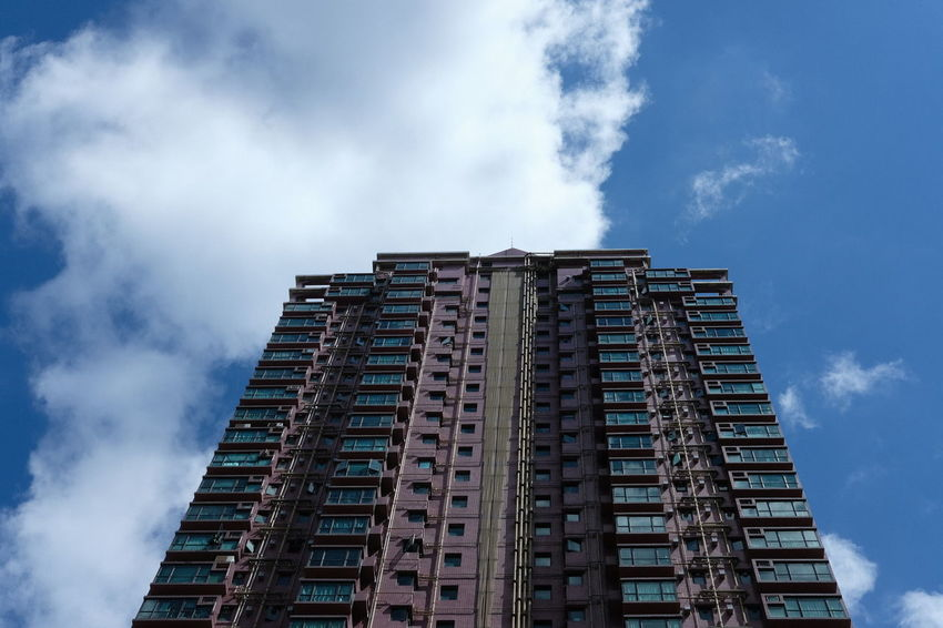 HongKong Architecture Building Exterior City Cloud - Sky Day Low Angle View No People Outdoors Sky
