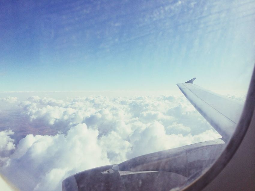 Above The Clouds Nice View Taking Photos From An Airplane Window Hello World Enjoying Life EyeEm Nature Lover Followme 👍✈️