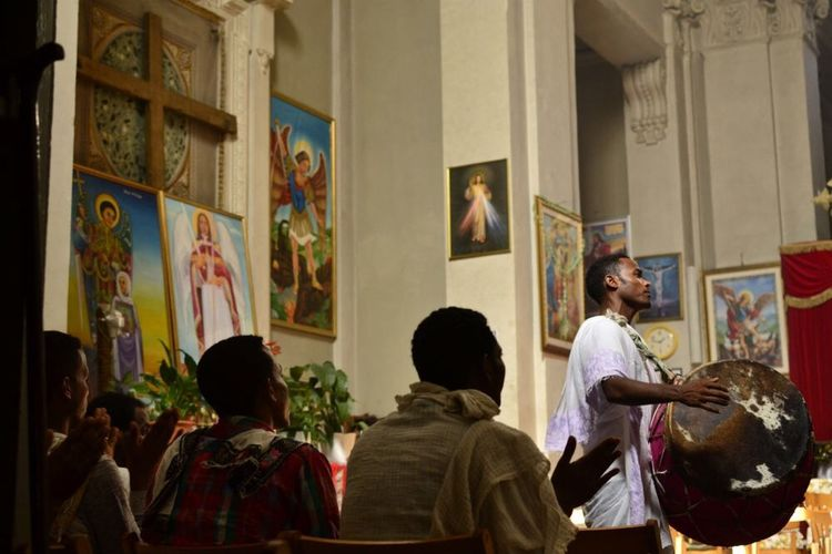 Religion Faith Roma Eritrea they are part of the invisible Rome where more than ever we can use photo as an tool to trigger awareness and change the old intolerant mindset.