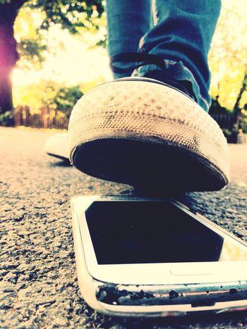 Foot Shoe Crush Smartphone