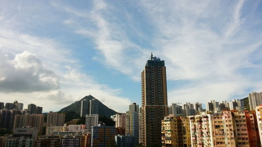 Hk City Landscape Nature_collection Blue Sky