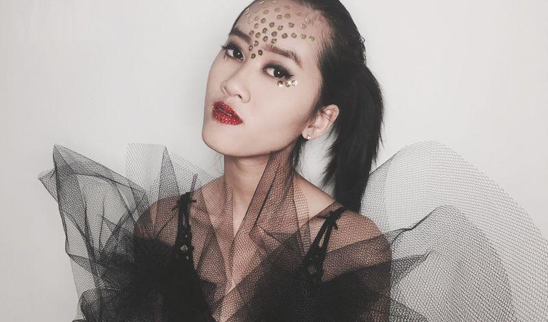 black swan BlackSwan Makeup Brisbane Brisbanemodel