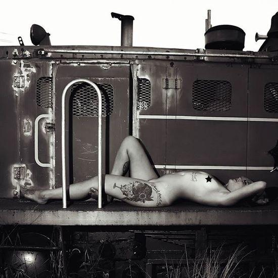 Trainspotting SuicideGirls Beautiful Goddess Poison Postapocalyptic Madmax Sucidegirl Freethenip Goth Punk Dieselpunk Ink Tattoo Tattoos Tattoogirls Train Trains Trainyard Trainspotting TakeARideWithMe Grunge Fetish Fetishmodel Maui