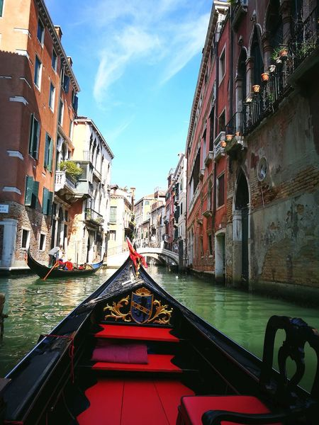 Architecture Travel Destinations Gondola - Traditional Boat Adventure Enjoying Life Travel Outdoors No People Italy Vacation Venice, Italy