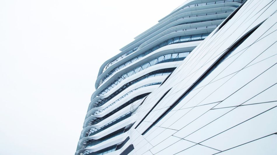 University in Hong Kong White Background Cannon HongKong Lifestyles Modern Architecture University Architecture Building Exterior Built Structure Low Angle View Modern Skyscraper Outdoors Day Clear Sky EyeEmNewHere