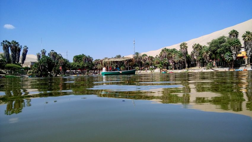 Oasis Water Vacations Nature Lake Sky No People Day Outdoors