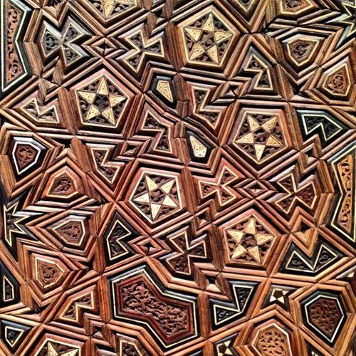 Wood Door Ebenisterie Woodworking Islam Bois Woodwork