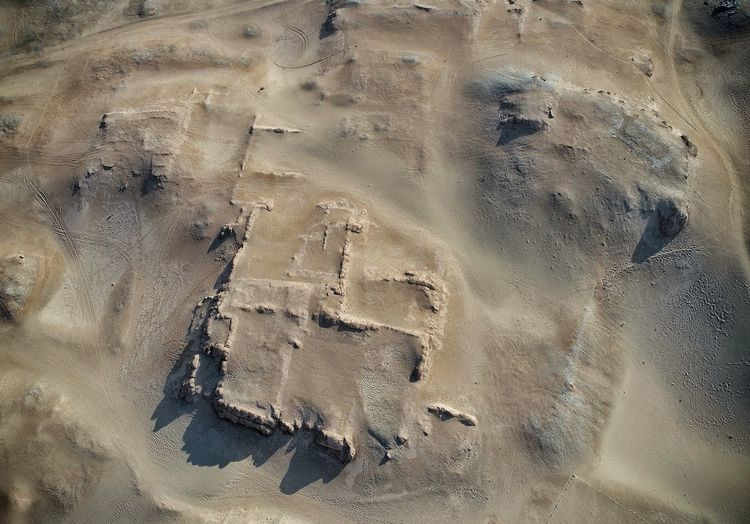 Archaeological site of El Huarco Aerial Lima Peru Archaeology Archaeological Sites Cerro Azul Backgrounds