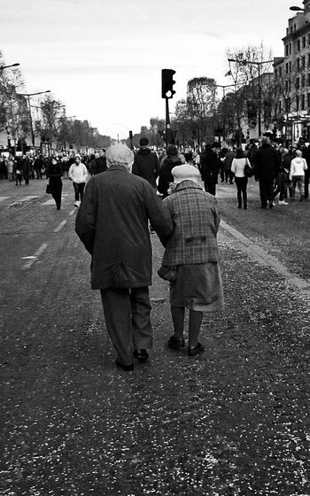 Happy New Year! Champselysées Paris Black And White France Uniqueness Shades Of Winter Stories From The City This Is Aging