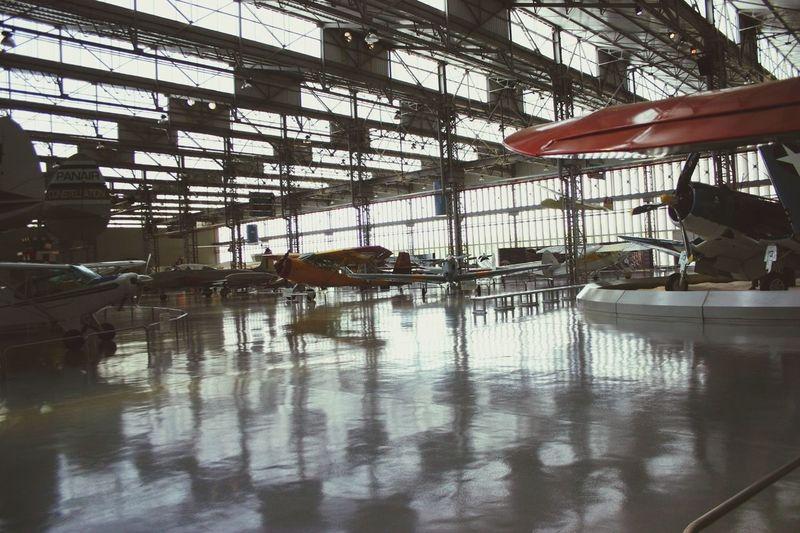 Museum Airplane Plane Vintage