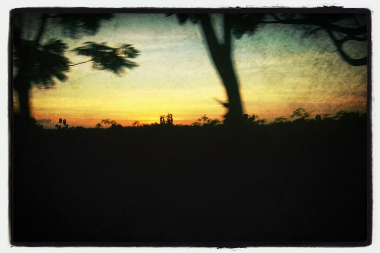 Sunset Gunung Kidul