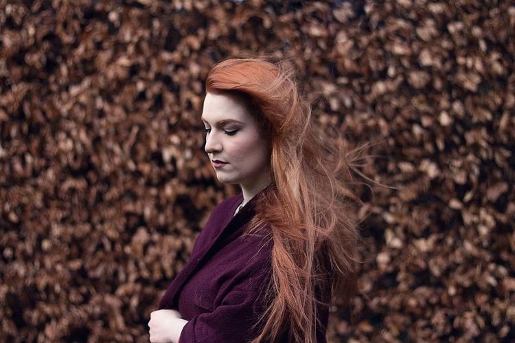 Ginger Brave Braveheart Leaves Scotland Edinburgh Gardens
