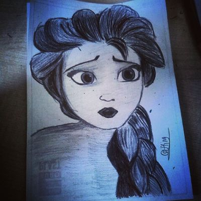 😜 MyDrawing Drawing_pencile ElsaDrawing Frozen Disegnare Disegno Drawing Queenelsa Queenofarendelle Elsafrozendrawing Elsaphant