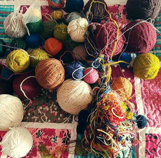 A problem to solve Yarn Colours EyeEm Best Shots EyeEm Selects Handicrafts