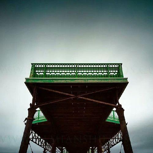 '1885' St Anne's pier Lythamstannes Blackpool Landscape_lovers Piers landscape seascapes www.damianshields.com