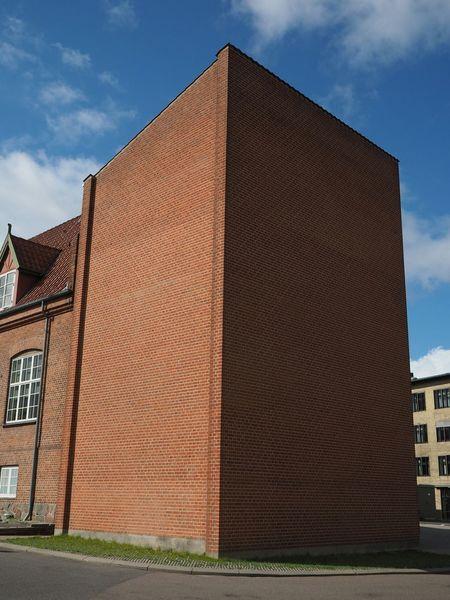 Brickporn Brick Wall Bricks Hospitals Monolith Architectural Photography