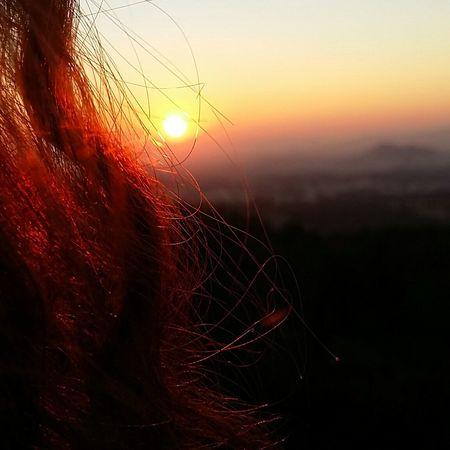 This sunset...