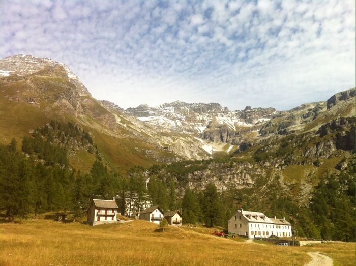Alpe Veglia House Built Structure Agriculture Outdoors Day Nature Sky Beauty In Nature