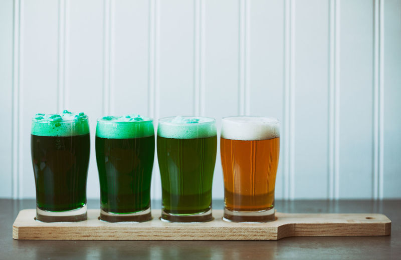Image series for St. Patrick's Day with a filtered look. Beer Copy Space Green Green Beer For St Patrick's Day Holiday Saint Patrick's Day St. Patrick's Day St. Patricks Day Green Beer Irish